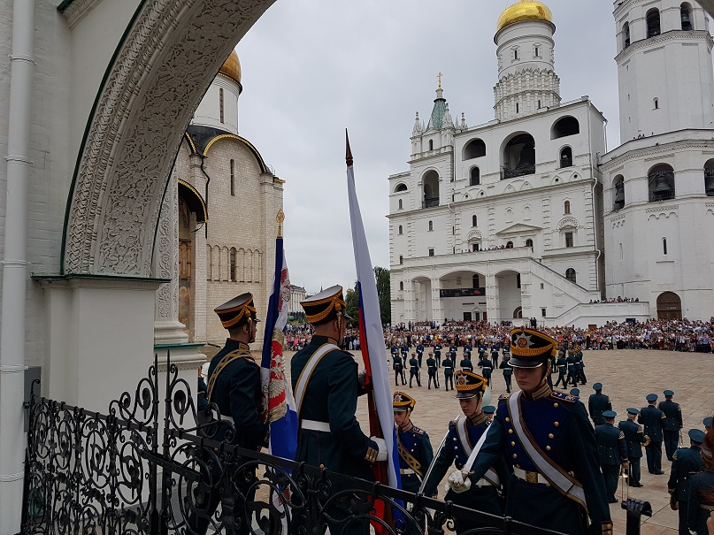 Within the Moscow Kremlin