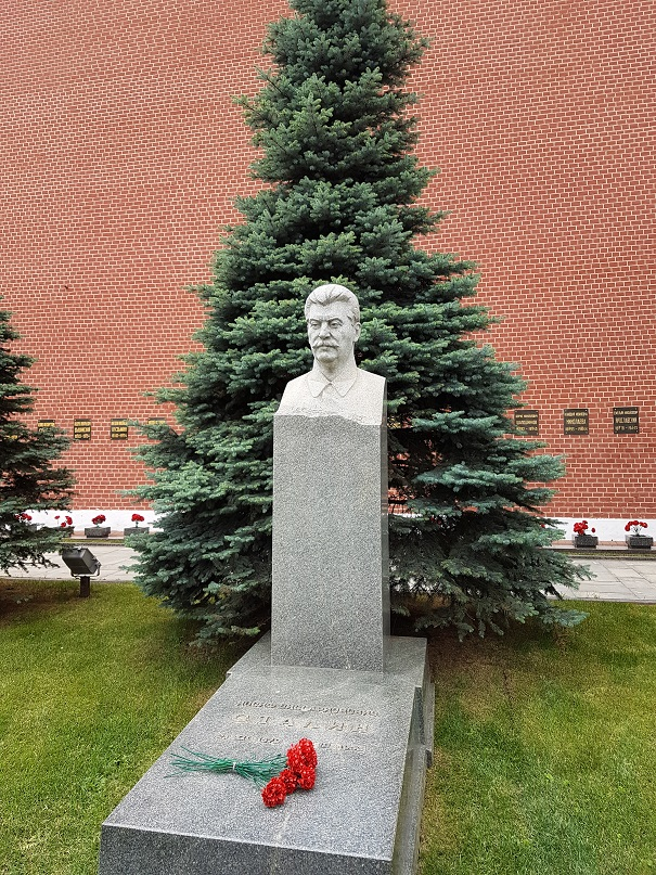 Stalin's tomb in the Kremlin in Moscow